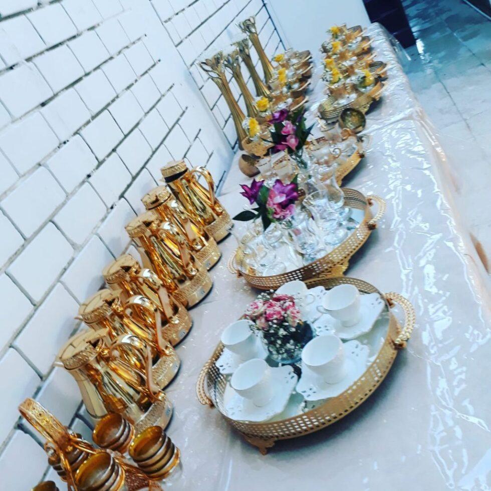 خدمة شاي و قهوة و عصير | النوبي للضيافة